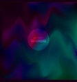 mesh-blue-green-violet vector image