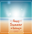 Summer time design vector image vector image