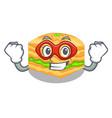 super hero cartoon baklava on the wooden boards vector image