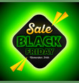black friday sales background template special vector image vector image