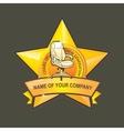chair logo vector image