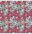 Floral gentle pattern vector image vector image