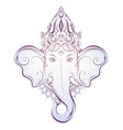 ganesha decorative vector image