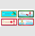 gift certificate voucher gift card or cash vector image vector image