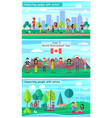 june 5 world environment day promotional posters vector image vector image