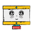 kawaii cute tender computer technology vector image vector image
