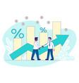 loans refinancing concept vector image vector image