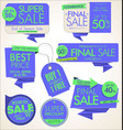 modern badges stickers and labels collection 2 vector image vector image