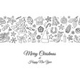 seamless festive border pattern with traditional vector image vector image