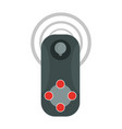 small video game controller with joystick icon vector image vector image