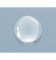 Water Liquid Drop Isolated on Transparent vector image vector image