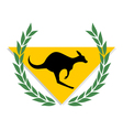 winner kangaroo vector image