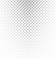 Abstract monochrome curved star pattern background vector image vector image