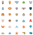 Animals icon set Part two vector image vector image
