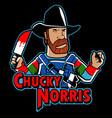 chucky norris vector image vector image