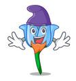 elf bell flower character cartoon vector image