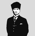 portrait mustafa kemal ataturk founder