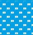 vietnam flag pattern seamless blue vector image vector image