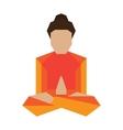Yoga asans pose vector image