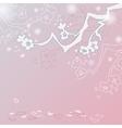 Sakura blossom background vector image