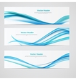 abstract colored wave header background