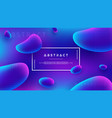 abstract fluid liquid background design vector image vector image
