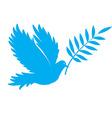 bird dove peace vector image