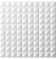 Geometrical white seamless pattern vector image vector image