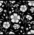 graphic linen pattern vector image