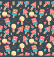 hand drawn doodle colorful candy sweets ice cream vector image vector image
