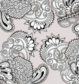 Hand drawn doodle ornament vector image vector image