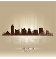 Memphis tennessee skyline city silhouette vector | Price: 1 Credit (USD $1)