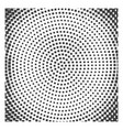 monochrome halftone background vector image