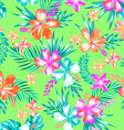 sweet tropical fashion pattern vector image vector image