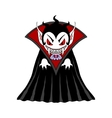 Vampire man cartoon character vector image
