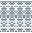 zigzag silver geometric pattern vector image