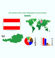 18 austria all countries of the world vector image