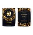 60th years birthday black paper luxury