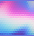 abstract background pattern with triangles and vector image vector image