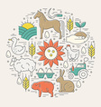 Agricultural Concept vector image vector image