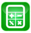 calculator app icon vector image