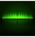Green Digital Abstract Equalizer Background