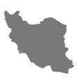 iran map vector image vector image