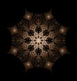 mandala d vector image vector image