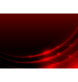 Red Glowing Edges vector image vector image