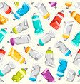 set of colorful paint tubes vector image