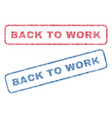 back to work textile stamps