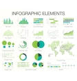 Infographics Template Set of graphic design vector image