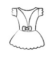 ballet costume design vector image