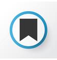 bookmark icon symbol premium quality isolated vector image